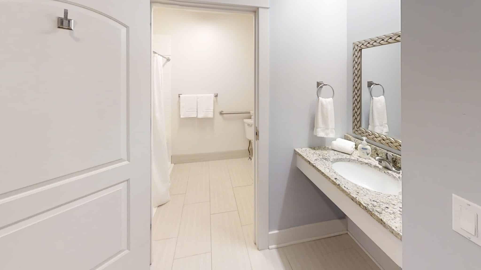 Isaac-Bathroom downstairs master