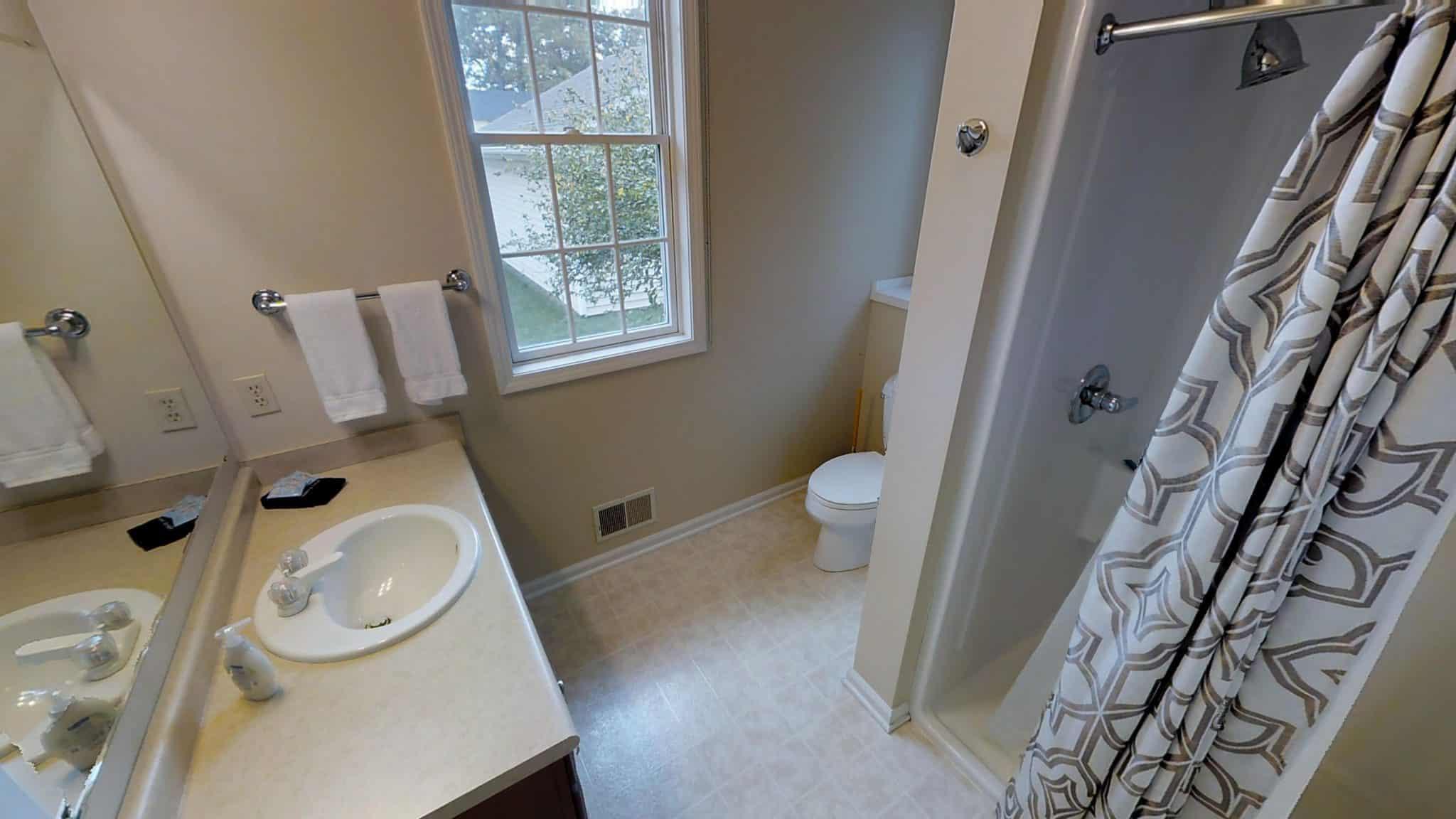 bathroom andrew up